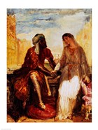 Othello and Desdemona in Venice, 1850