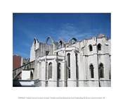 Lisbon Carmo Convent Arches