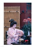Geisha, Tokyo, Honshu, Japan