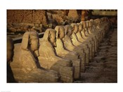 Avenue of the Sphinxes Karnak Temple Luxor Egypt