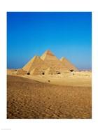 Giza Pyramids, Giza, Egypt (far away)