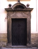 Prague Door I