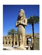Ramses II Statue, Temples Of Karnak, Luxor, Egypt