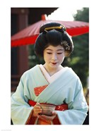 Young woman dressed as a Geisha, Japan