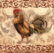 Toile Rooster I