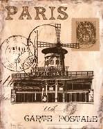 Paris Collage IV