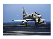 U.S. Navy McDonnell Douglas A-4 Skyhawk Jet Fighter