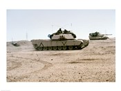 Kuwait: Two M-141 Abrams Main Battle Tanks