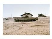 Kuwait: Two M-141 Abrams Main Battle Tanks