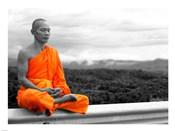 Abbot of Watkun Meditating