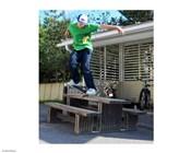 Nose Grind Skateboarding