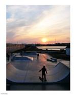 Skate Park, Hove Lagoon, UK