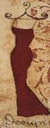 Red Fabric Design II