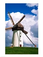 Low view of a windmill, Skerries, County Dublin, Ireland