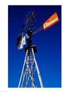 Orange Climax Windmill Texas, USA