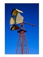 Fan Windmill in Texas
