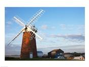 Drainage windmill, Horsey Windpump, Horsey, Norfolk, East Anglia, England