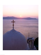 Sunrise, Santorini, Oia, Cyclades Islands, Greece