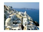 Skyline in Cyclades Islands, Greece