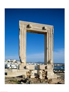 Portara Gateway, Temple of Apollo, Naxos, Cyclades Islands, Greece