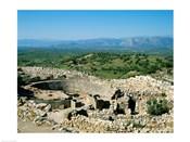 Royal Tombs Grave Circle, Mycenae, Greece