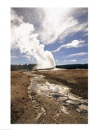 Old Faithful Geyser Yellowstone National Park Wyoming USA