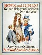 Help Uncle Sam Win the War