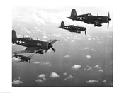 Fighter planes in flight, US Marine Corps