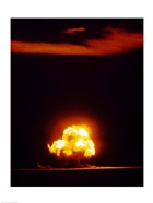 First atomic bomb test, Alamogordo, New Mexico, USA, July 16, 1945