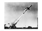 Low angle view of a missile taking off, Martin TM-61B Matador