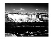 Canada, Niagara Falls, Infrared view, taken from Canadian side