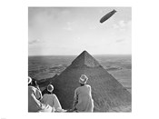 The Graf Zeppelin&#39;s Rendezvous with Pyraminds of Gizeh, Egypt
