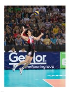 Volleyball Jump Serve