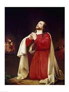 Christ in Gethsemane by Christoffer W. Eckersberg, (1783-1853)