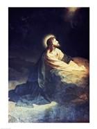 Christ in the Garden of Gethsemane Heinrich Hoffmann (1824-1911 German)
