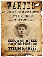 Baby Face Nelso Wanted Poster