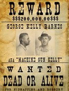 Machine Gun Kelly Wanted Poster