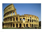 Low angle view of a coliseum, Colosseum, Rome, Italy