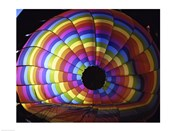 Close-up of hot air balloon, Albuquerque International Balloon Fiesta, Albuquerque, New Mexico, USA