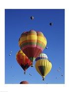 Hot air balloons at the Albuquerque International Balloon Fiesta, Albuquerque, New Mexico, USA