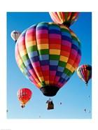 Gorgeous Rainbow Hot Air Balloon