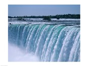 Close-up of a waterfall, Niagara Falls, Ontario, Canada