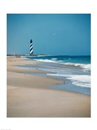 Cape Hatteras Lighthouse Cape Hatteras National Seashore North Carolina USA Prior to 1999 Relocation