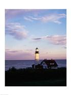 Portland Head Lighthouse Vertical Cape Elizabeth Maine USA