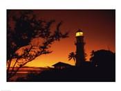 Diamond Head Lighthouse Oahu Hawaii USA