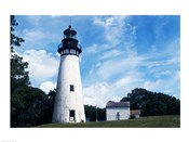 Amelia Island Lighthouse Fernandina Beach Florida USA