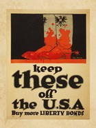 Keep These Off the USA Buy More Liberty Bonds