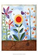Whimsical Flower Garden II