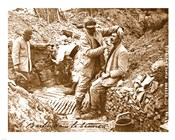 Barber in the Trench