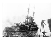 HMS Irresistible Abandoned March 18,1915